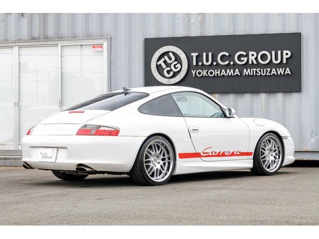 996カレラ 後期 黒革 エアロ 車高調 キセノン 2年保証(15枚目)