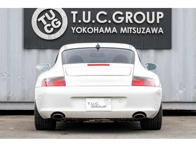 996カレラ 後期 黒革 エアロ 車高調 キセノン 2年保証(18枚目)