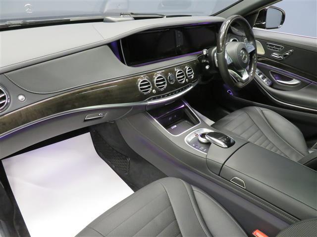 S300 h ロング AMGライン ショーファーパッケージ 2年保証 Bluetooth接続 CD DVD再生 ETC LEDヘッドライト TV アイドリングストップ オットマン クルーズコントロール サイドカメラ(13枚目)