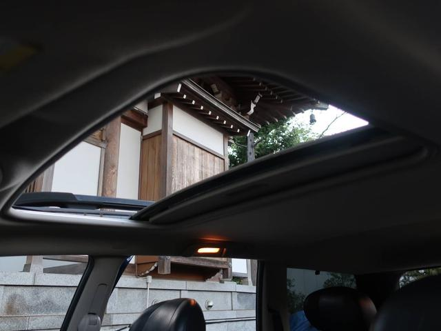 リミテッドV8 4WD サンルーフ バックカメラ 革シート オーディオ付 DVD ETC 5名乗り クルコン パワーシート 紺 AT AC パワーウィンドウ(10枚目)