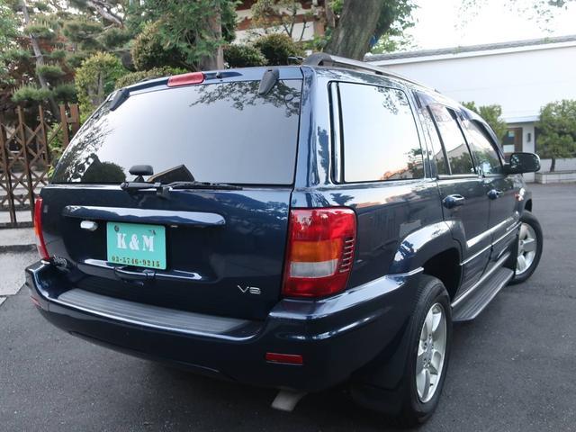 リミテッドV8 4WD サンルーフ バックカメラ 革シート オーディオ付 DVD ETC 5名乗り クルコン パワーシート 紺 AT AC パワーウィンドウ(16枚目)