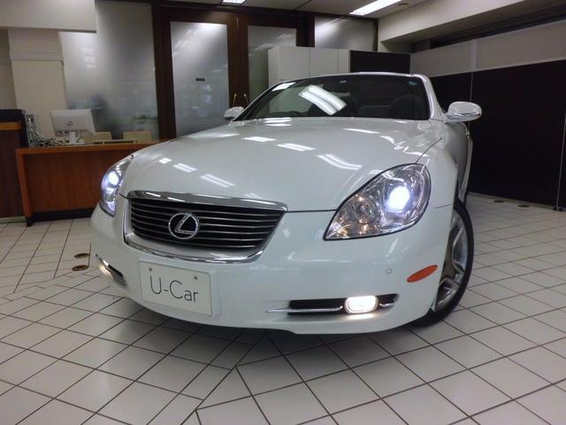 「レクサス」「SC」「オープンカー」「東京都」の中古車7