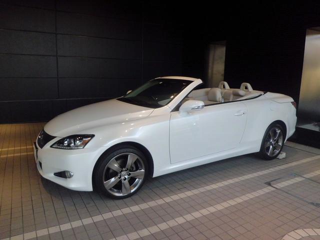 「レクサス」「IS」「オープンカー」「東京都」の中古車4