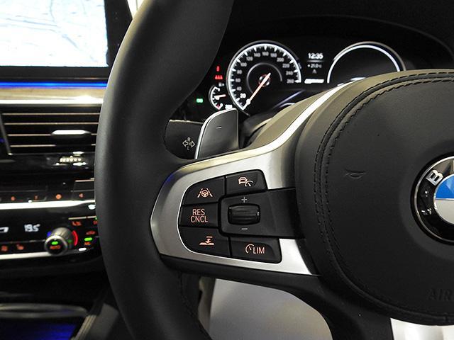 アクティブクルーズコントロールやレーンコントロールアシストは手元のボタンで作動できます。