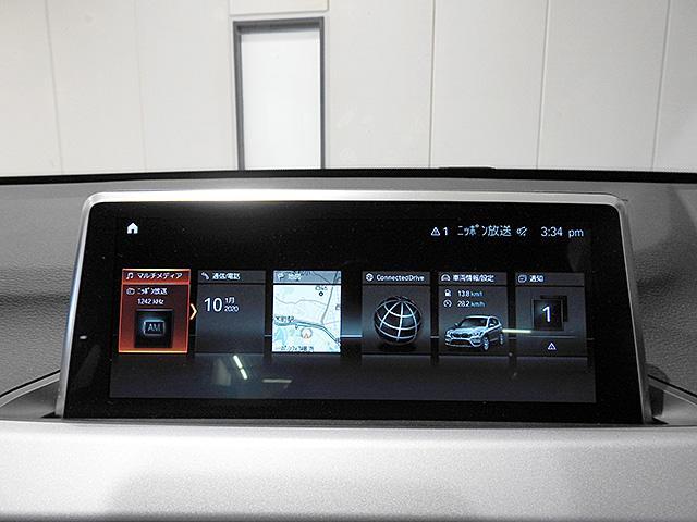 リアビューカメラ付きタッチパネル式BMW純正iDiveHDDナビ/ミュージックサーバー、Bluetoothオーディオ、ハンズフリーフォン付き