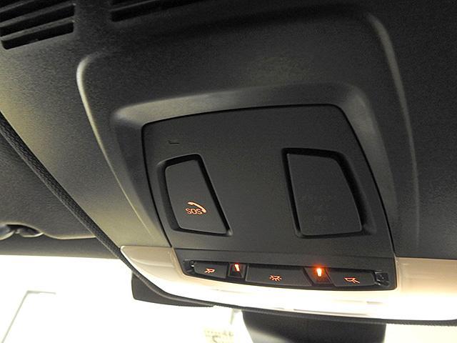 SOSコール/エアバックが展開するような深刻な事故の際の自動的にSOSコールを発信するシステムです。また、車内で急病人が出たといった緊急の際も手動でSOSコールを発信することもできます。