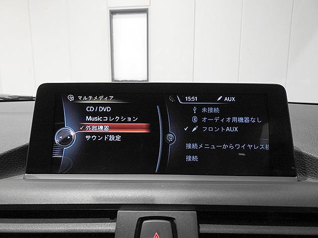 リアビューカメラ付きBMW純正iDiveHDDナビ/ミュージックサーバー、Bluetoothオーディオ、ハンズフリーフォン付き