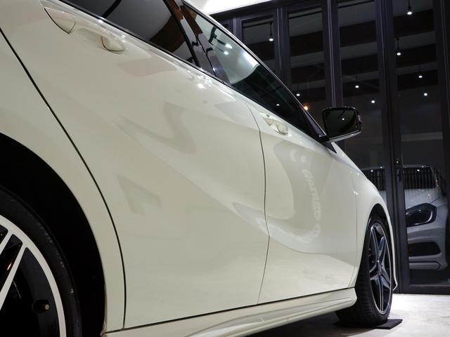 A180 スポーツ ナイトPKG 正規ディーラー車 1オーナー カルサイトホワイト 右ハンドル 純正ナビ&TV Bカメラ ETC メモリー付きPシート/D ディストロニック+ AMG18インチAW(17枚目)