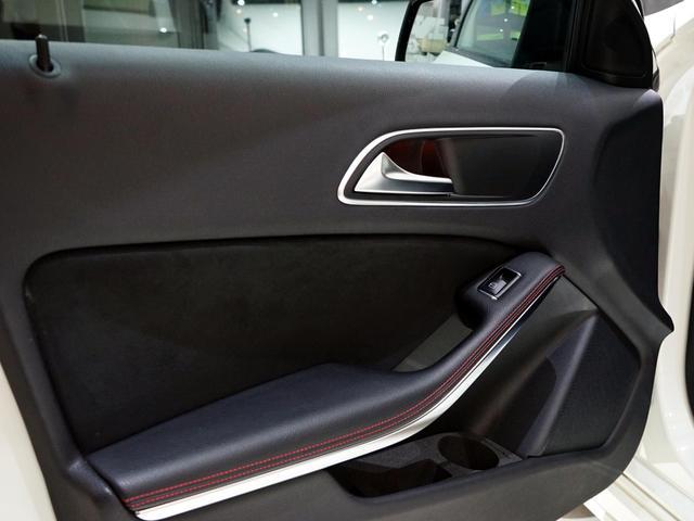 A180 スポーツ ナイトPKG 正規ディーラー車 1オーナー カルサイトホワイト 右ハンドル 純正ナビ&TV Bカメラ ETC メモリー付きPシート/D ディストロニック+ AMG18インチAW(23枚目)