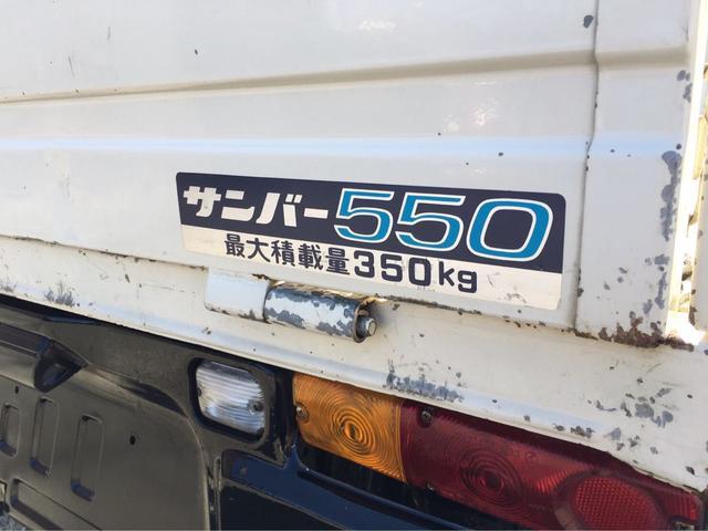 スバル サンバートラック 4速マニュアル 三方開