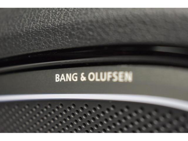 Bang&Olufsenサラウンドシステム『デンマークが世界に誇る高品質サラウンドシステム。クリアでダイナミック。そして臨場感溢れる上質なサラウンドサウンドをドライブ中にご体感いただけます。』