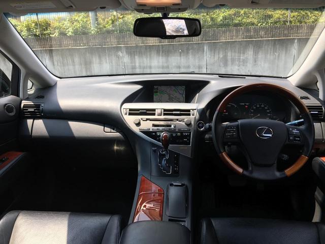 レクサス RX RX450h バージョンL 4WD 革 ワンオーナー