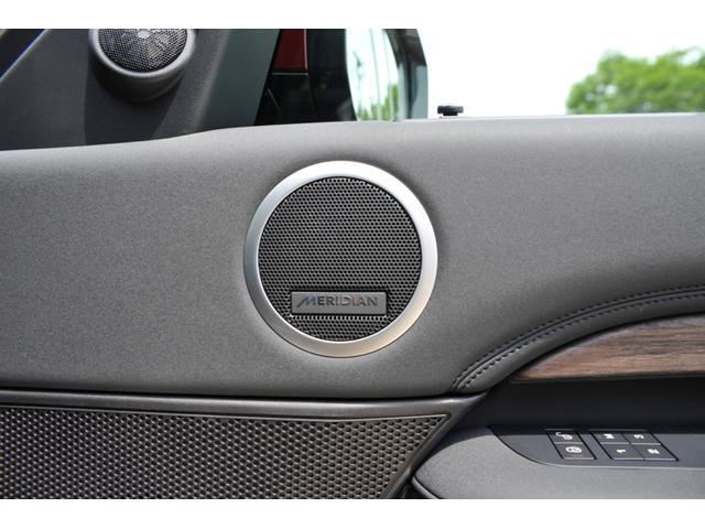 メリディアンサウンドシステム10スピーカー380Wは車内が上質なリスニングルームになります。