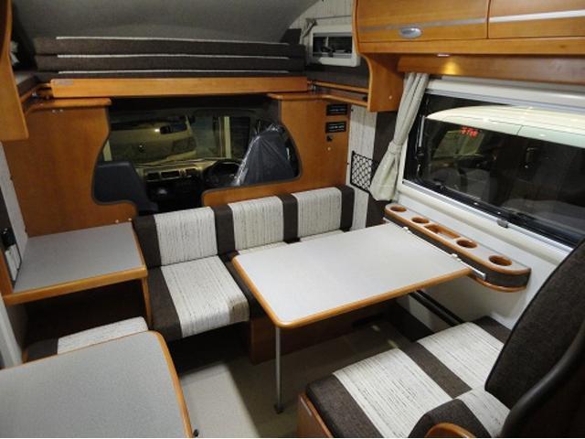日産 バネットトラック カービィR2B 2WD ガソリン キャンピングカー