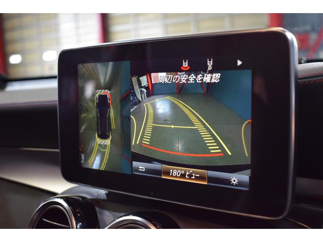 目視が出来ない車輌後方や全方位を鮮明にナビ画面に映し出す360度カメラ&バックカメラ!車輌の前後にはパークトロニックセンサーも装備し安全運転をサポートします!