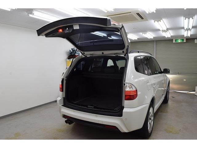 BMW BMW X3 2.5si後期型MスポーツパッケージI黒革 純正HDDナビ