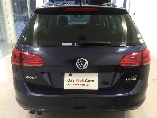 フォルクスワーゲン VW ゴルフヴァリアント TSIハイライン HL ワンオーナー 禁煙車 認定中古車