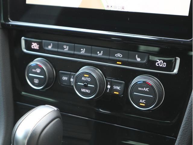 運転席、助手席独立式フルオートエアコンです。ダイヤルを回すだけのシンプルな操作方法です。