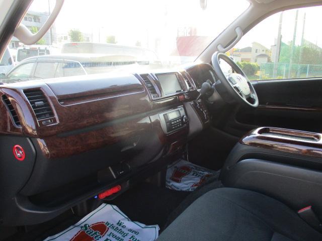 トヨタ ハイエースバン ロングスーパーGL ナビTV Bカメラ 両側電動ドアLED