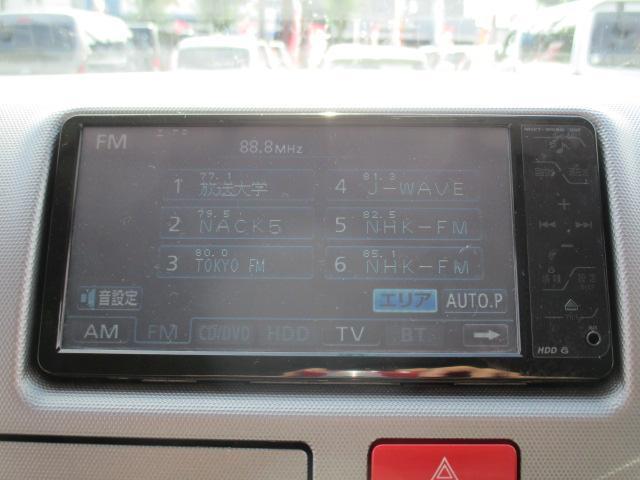 トヨタ ハイエースバン ロングスーパーGL ナビTV 1オーナーETC Dターボ