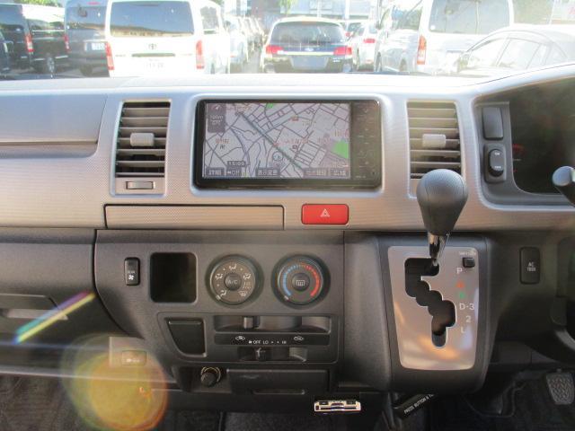 トヨタ ハイエースバン ロングスーパーGL ナビTV BカメラETC 1オーナー