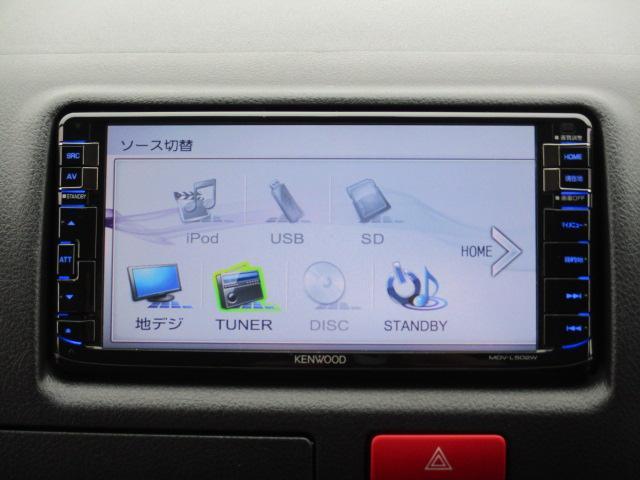 トヨタ ハイエースバン ロングDX GLパッケージ ナビTVバックカメ ドラレコ