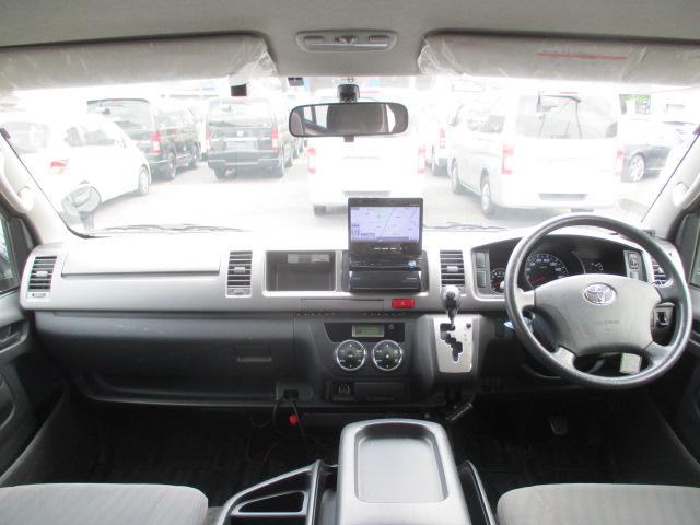 トヨタ ハイエースバン ロングワイドスーパーGL ナビTV BカメラETC Dターボ