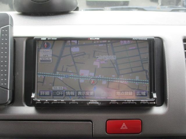 GL HDDナビフルセグTV バックカメラETC フリップダンモニター Wエアバック 電動スライドドア AC100V 純正HIDヘッドライト 小窓 社外16AW ホワイトレター(19枚目)