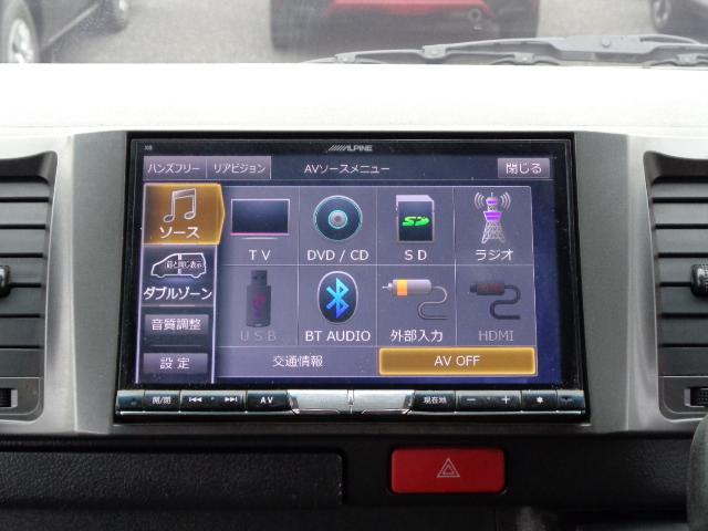 スーパーGL ダークプライム 8インチナビ バックカメラ プラズマクラスター付きフリップダウンモニター ダブルゾーン フルセグTV ETC Wエアバック AC100V 両側電動ドア ディーゼルターボ コーナーセンサー エアロ(20枚目)
