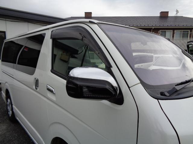 スーパーGL ダークプライム 8インチナビ バックカメラ プラズマクラスター付きフリップダウンモニター ダブルゾーン フルセグTV ETC Wエアバック AC100V 両側電動ドア ディーゼルターボ コーナーセンサー エアロ(36枚目)