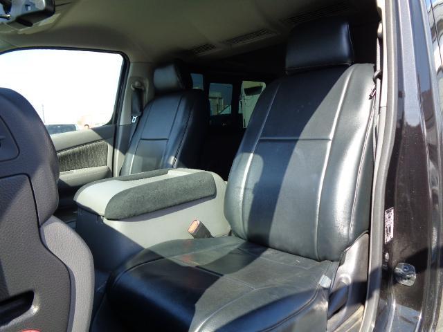 ロングプレミアムGX SDナビ フルセグTV Bluetooth アラウンドビューモニター 衝突軽減ブレーキ Wエアバック 純正LEDヘッドライト 小窓付き両側スライド 1オーナー スマートキー シートカバー ドラレコ(43枚目)