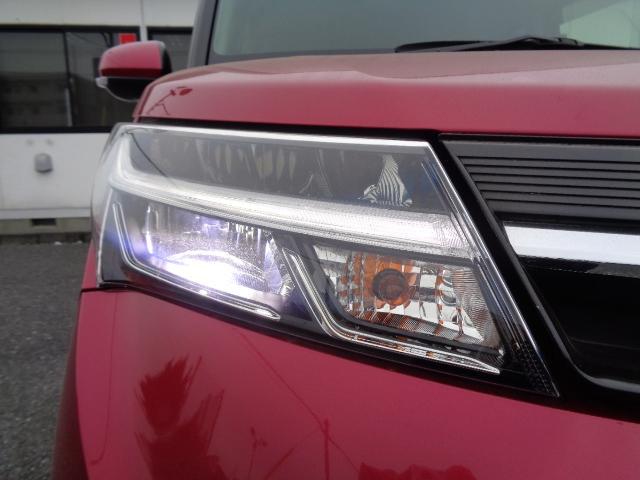 カスタムG S SDナビ フルセグTV バックカメラ Bluetooth 衝突軽減ブレーキ スマートアシスト 両側電動スライド 純正LEDヘッドライト クルーズコントロール 禁煙 純正エアロ 純正AW(38枚目)