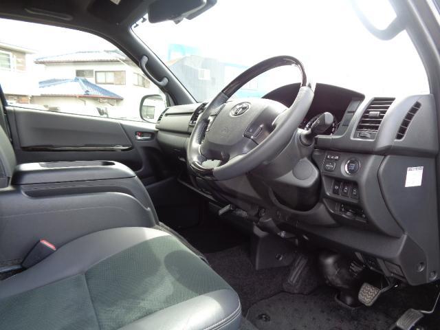 スーパーGL ダークプライムII SDナビ フルセグTV 12.1型フリップダウンモニター バックカメラ ETC AC100V Wエアバック 両側電動スライドドア 衝突軽減ブレーキ LEDライト 禁煙車 スマートキー 純正15AW(11枚目)