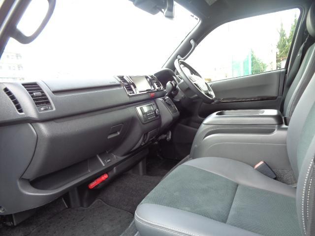 スーパーGL ダークプライムII SDナビ フルセグTV 12.1型フリップダウンモニター バックカメラ ETC AC100V Wエアバック 両側電動スライドドア 衝突軽減ブレーキ LEDライト 禁煙車 スマートキー 純正15AW(14枚目)