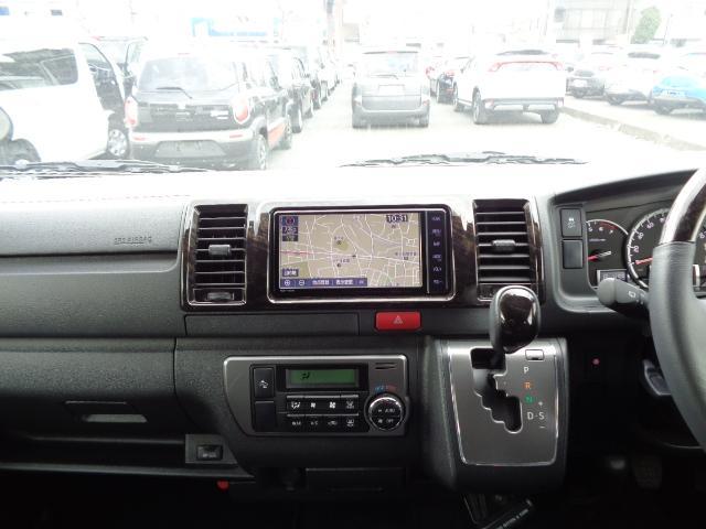 スーパーGL ダークプライムII SDナビ フルセグTV 12.1型フリップダウンモニター バックカメラ ETC AC100V Wエアバック 両側電動スライドドア 衝突軽減ブレーキ LEDライト 禁煙車 スマートキー 純正15AW(18枚目)