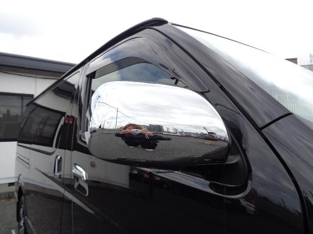 スーパーGL ダークプライムII SDナビ フルセグTV 12.1型フリップダウンモニター バックカメラ ETC AC100V Wエアバック 両側電動スライドドア 衝突軽減ブレーキ LEDライト 禁煙車 スマートキー 純正15AW(40枚目)