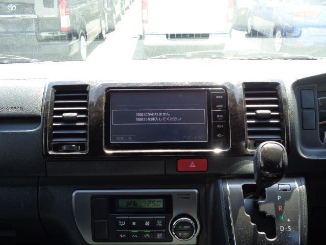 スーパーGL ダークプライム SDナビ 地デジTV バックカメラ Bluetooth ETC 純正フリップダウンモニター Wエアバック スマートキー 小窓付き両側スライド 純正LEDヘッドライト ハーフレザー 純正15AW(18枚目)