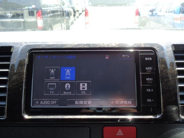 スーパーGL ダークプライム SDナビ 地デジTV バックカメラ Bluetooth ETC 純正フリップダウンモニター Wエアバック スマートキー 小窓付き両側スライド 純正LEDヘッドライト ハーフレザー 純正15AW(19枚目)