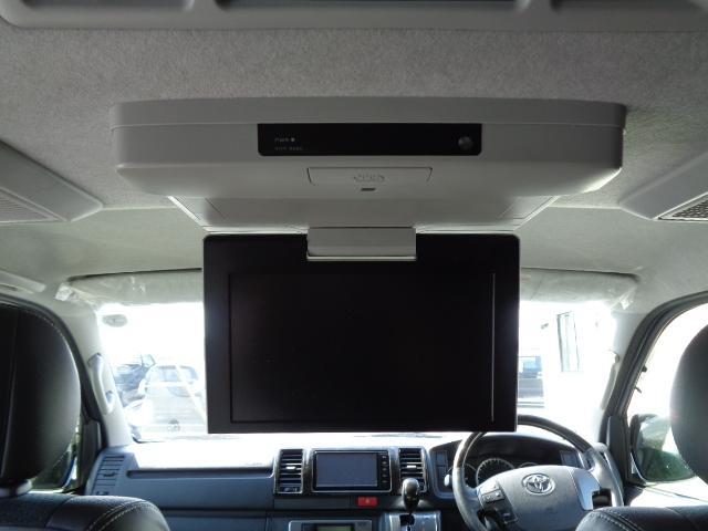 スーパーGL ダークプライム SDナビ 地デジTV バックカメラ Bluetooth ETC 純正フリップダウンモニター Wエアバック スマートキー 小窓付き両側スライド 純正LEDヘッドライト ハーフレザー 純正15AW(21枚目)