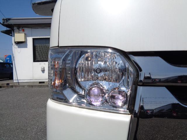 スーパーGL ダークプライム SDナビ 地デジTV バックカメラ Bluetooth ETC 純正フリップダウンモニター Wエアバック スマートキー 小窓付き両側スライド 純正LEDヘッドライト ハーフレザー 純正15AW(34枚目)