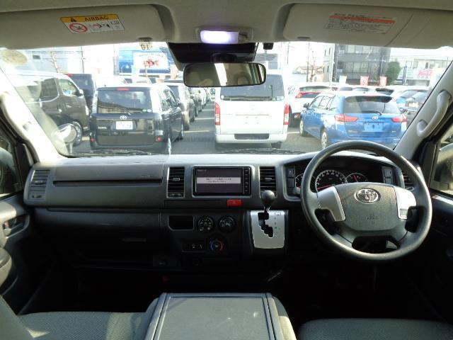 DX GLパッケージ SDナビ フルセグTV バックカメラ Bluetooth ETC 衝突軽減 Wエアコン 純正LEDヘッドライト 小窓付き両側スライド ディーゼルターボ タイミングチェーン Wエアバック AC100V(9枚目)