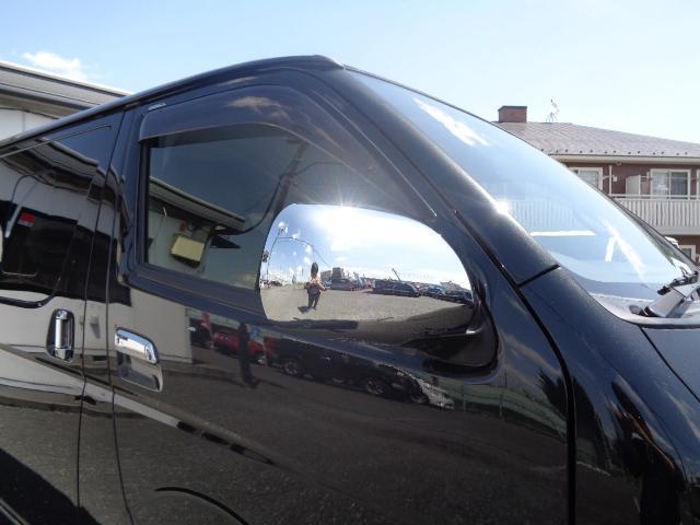 スーパーGL ダークプライム SDナビ 地デジTV バックカメラ Bluetooth ETC スマートキー 小窓付き両側スライドドア ハーフレザー TRDエアロ TRDマフラー 純正LEDヘッドライト 15AW(32枚目)