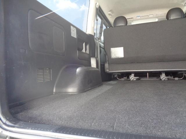 スーパーGL ダークプライム SDナビ 地デジTV バックカメラ Bluetooth ETC スマートキー 小窓付き両側スライドドア ハーフレザー TRDエアロ TRDマフラー 純正LEDヘッドライト 15AW(50枚目)