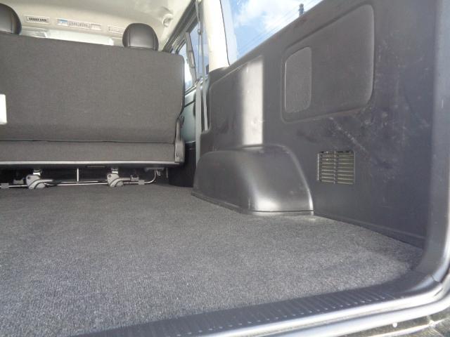 スーパーGL ダークプライム SDナビ 地デジTV バックカメラ Bluetooth ETC スマートキー 小窓付き両側スライドドア ハーフレザー TRDエアロ TRDマフラー 純正LEDヘッドライト 15AW(51枚目)