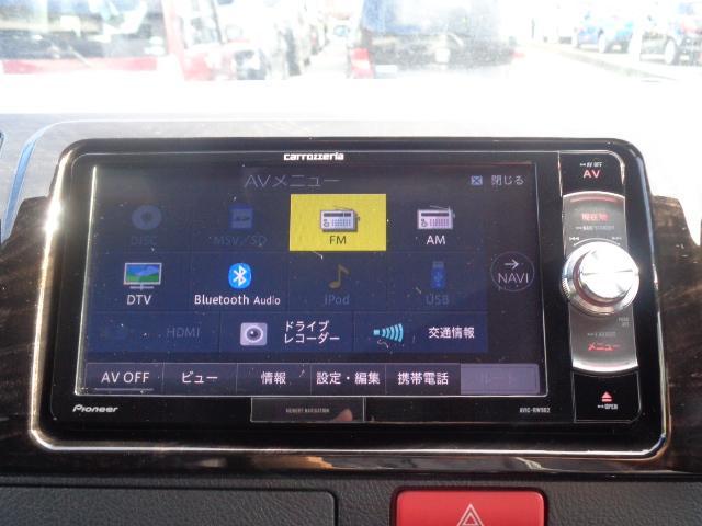 スーパーGL ダークプライムII SDナビ フルセグTV Bluetooth レーダー連動ドライブレコーダー 衝突被害軽減ブレーキ バックカメラ 助手席エアバック AC100V 小窓付き両側スライドドア 純正LEDヘッドライト ターボ(20枚目)
