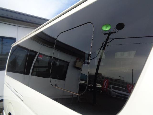 スーパーGL ダークプライムII SDナビ フルセグTV Bluetooth レーダー連動ドライブレコーダー 衝突被害軽減ブレーキ バックカメラ 助手席エアバック AC100V 小窓付き両側スライドドア 純正LEDヘッドライト ターボ(36枚目)