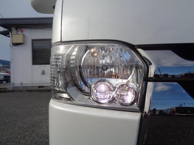 スーパーGL ダークプライムII SDナビ フルセグTV Bluetooth レーダー連動ドライブレコーダー 衝突被害軽減ブレーキ バックカメラ 助手席エアバック AC100V 小窓付き両側スライドドア 純正LEDヘッドライト ターボ(39枚目)