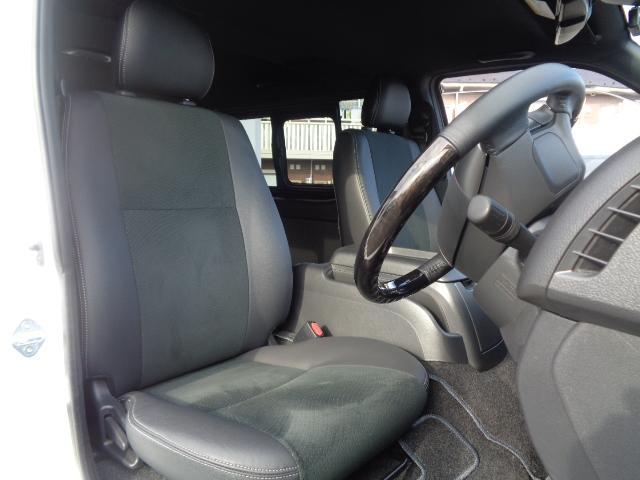 スーパーGL ダークプライムII SDナビ フルセグTV Bluetooth レーダー連動ドライブレコーダー 衝突被害軽減ブレーキ バックカメラ 助手席エアバック AC100V 小窓付き両側スライドドア 純正LEDヘッドライト ターボ(45枚目)