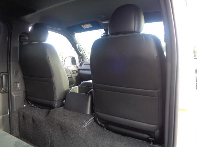 スーパーGL ダークプライムII SDナビ フルセグTV Bluetooth レーダー連動ドライブレコーダー 衝突被害軽減ブレーキ バックカメラ 助手席エアバック AC100V 小窓付き両側スライドドア 純正LEDヘッドライト ターボ(46枚目)