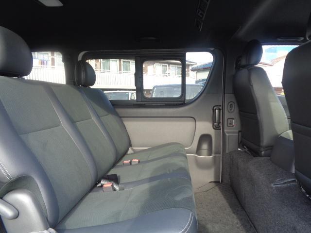 スーパーGL ダークプライムII SDナビ フルセグTV Bluetooth レーダー連動ドライブレコーダー 衝突被害軽減ブレーキ バックカメラ 助手席エアバック AC100V 小窓付き両側スライドドア 純正LEDヘッドライト ターボ(47枚目)